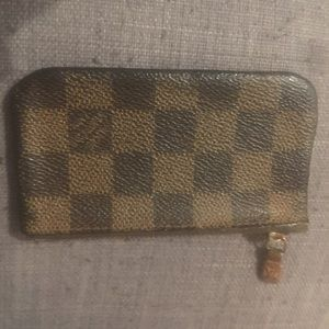 Authentic Louis Vuitton key pouch!